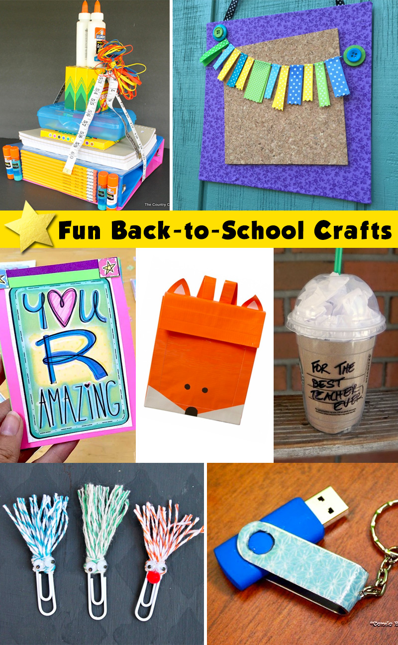 Back To School Craft Projects Morena S Corner
