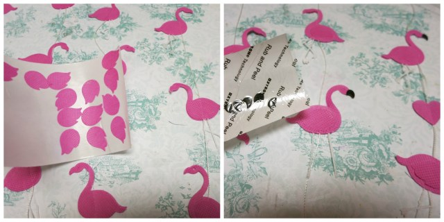 Create a fun flamingo mobile for your home or party this summer! Die cuts and non fraying fabric make this a quick, easy project.