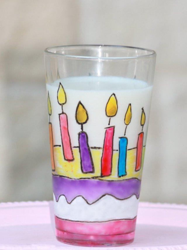 Happy Birthday Cup Tutorial