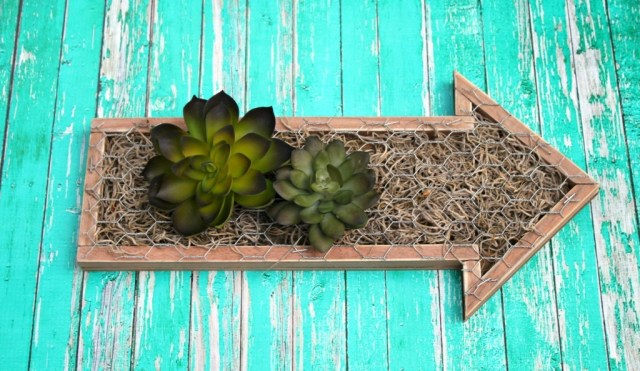 Create a beautiful faux succulent garden in just a few simple steps. Great, easy to make home decor project for beginning crafters!