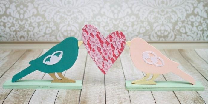 love bird decor DIY