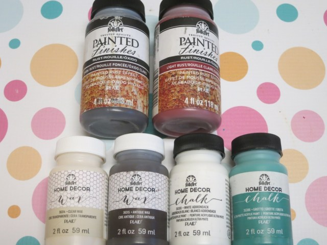 Review: Folk Art Painted Finishes, Rust