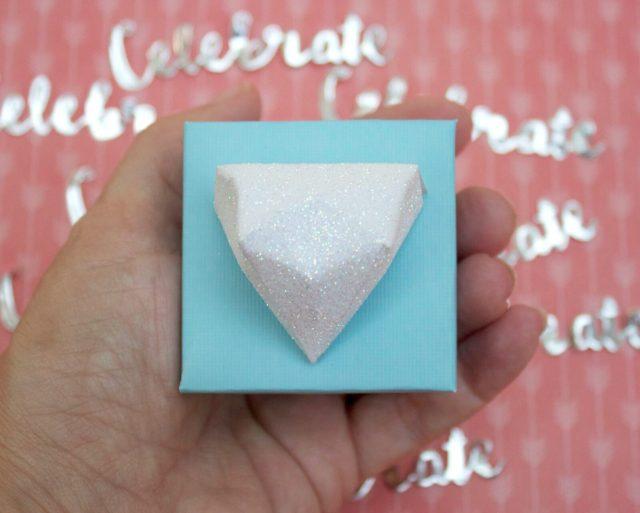 Diamond Favor Box Tutorial