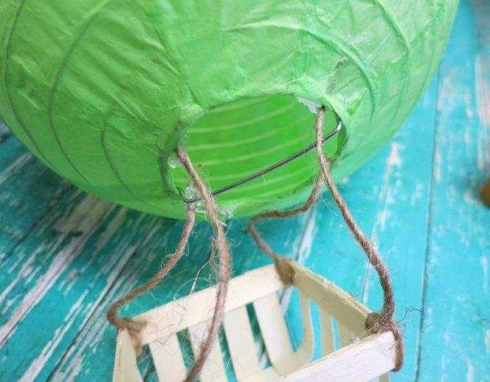 paper lantern air balloon