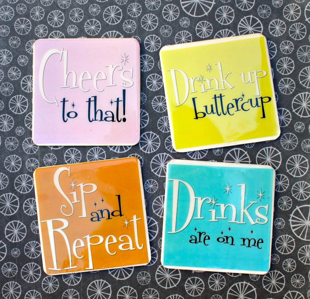 image relating to Printable Coasters known as Humorous Coasters Yourself Can Generate By yourself (with Free of charge Printables