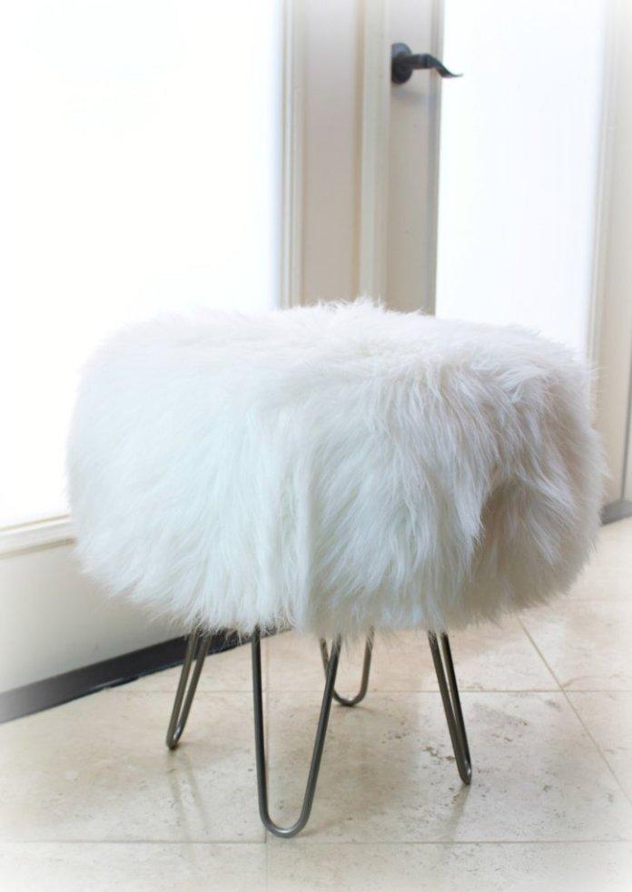 DIY MCM stool Mid Century Modern Stool Tutorial