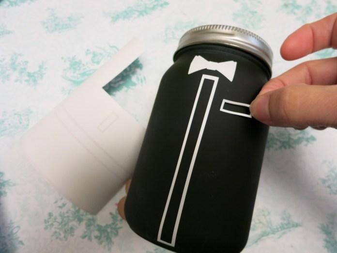groom jar diy