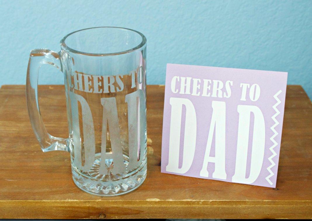 Etched Glass DIY Gifts to Make for Dad - Morena's Corner