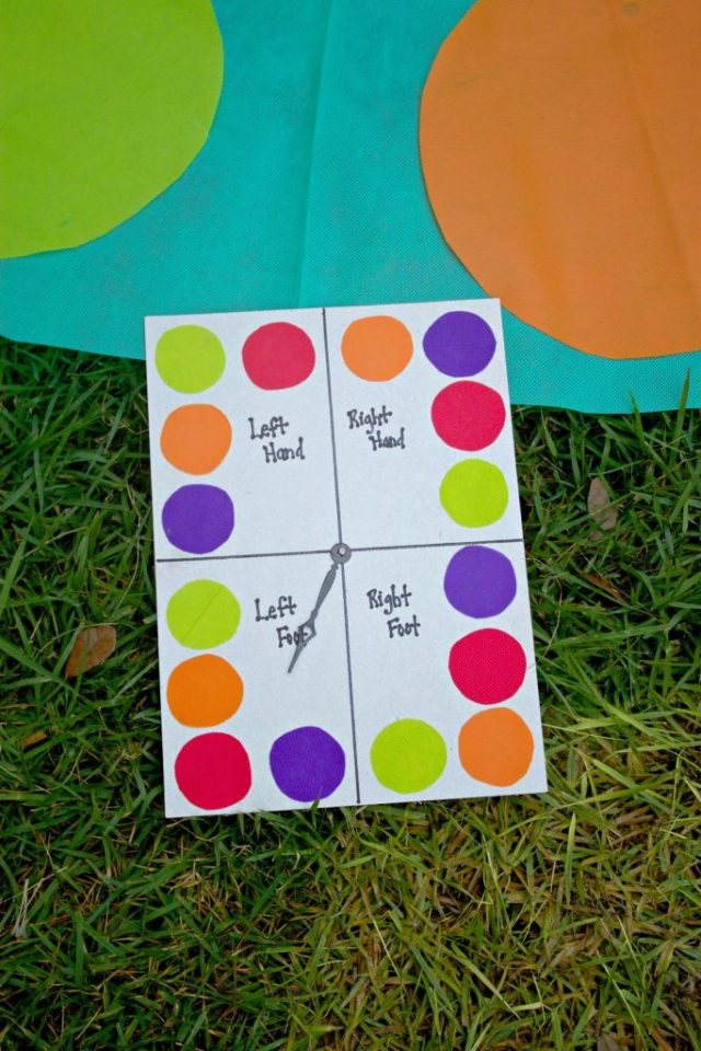 Keep the kids entertained this summer with a DIY Twister game! Easy to make project.
