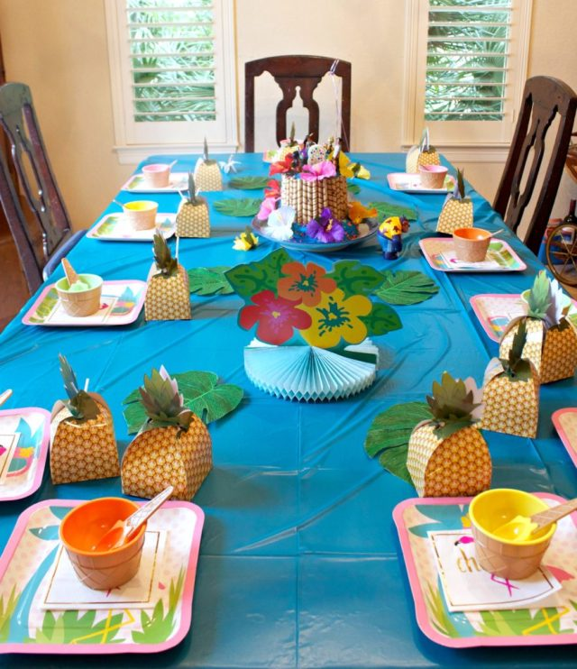 "Throw a Hawaiian party with these ""Lilo and Stitch"" Themed birthday party ideas."