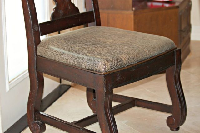 Strange Chair Repair Learn How To Recover A Broken Dining Room Seat Machost Co Dining Chair Design Ideas Machostcouk