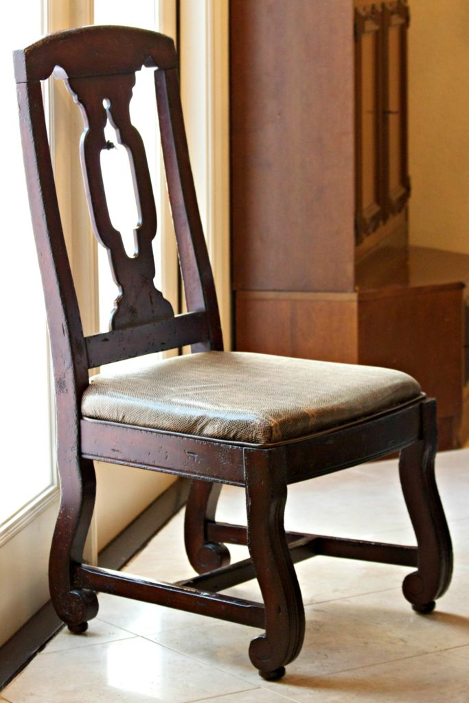 Beau Chair Repair: Learn How To Recover A Broken Dining Room Seat