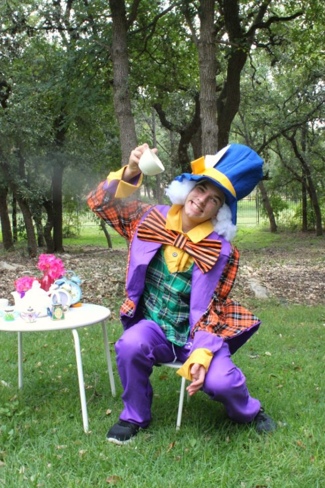 This Mad Hatter wig is the perfect DIY accessory for your Alice in Wonderland themed costume. Learn how easy it is to make your own wig.