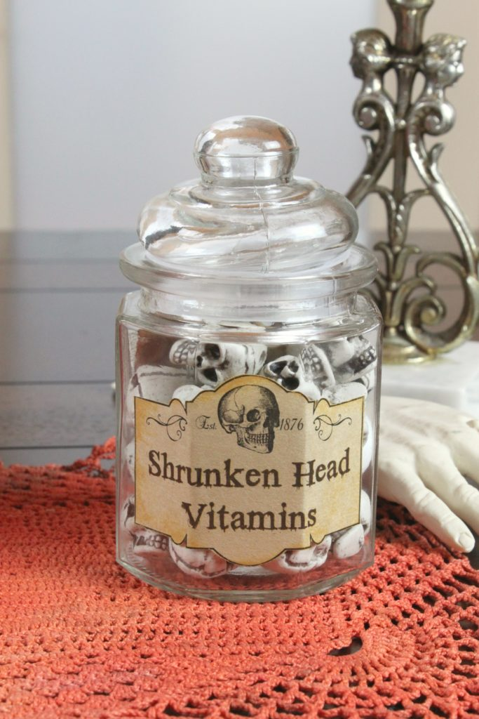 graphic about Halloween Head in a Jar Printable named Halloween Bottles Guide: Create Spooky Residence Decor