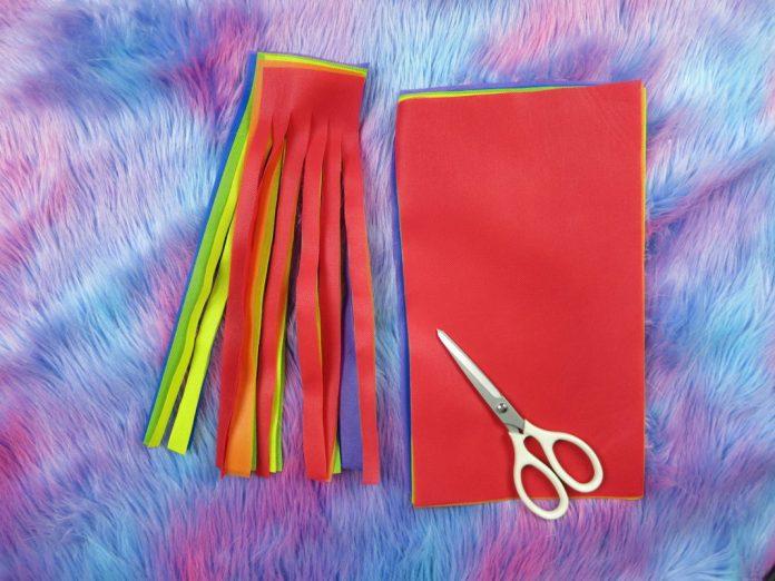 oly-fun fabric rainbow