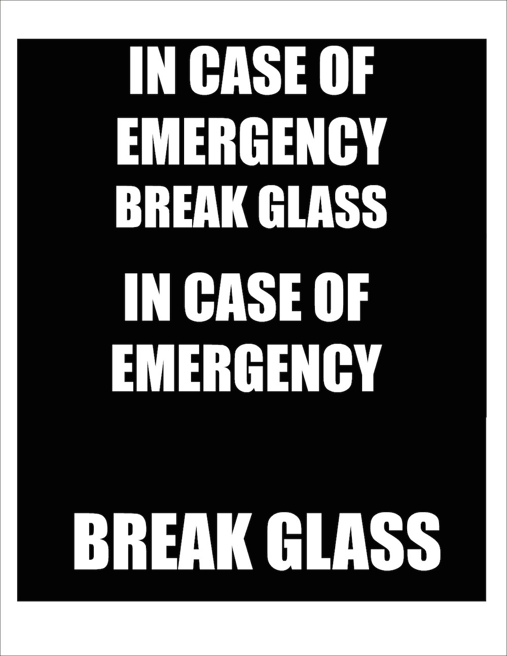 graphic relating to In Case of Emergency Break Glass Printable identify Crack Gl inside Circumstance of Unexpected emergency Sweet Decor - Morenas Corner