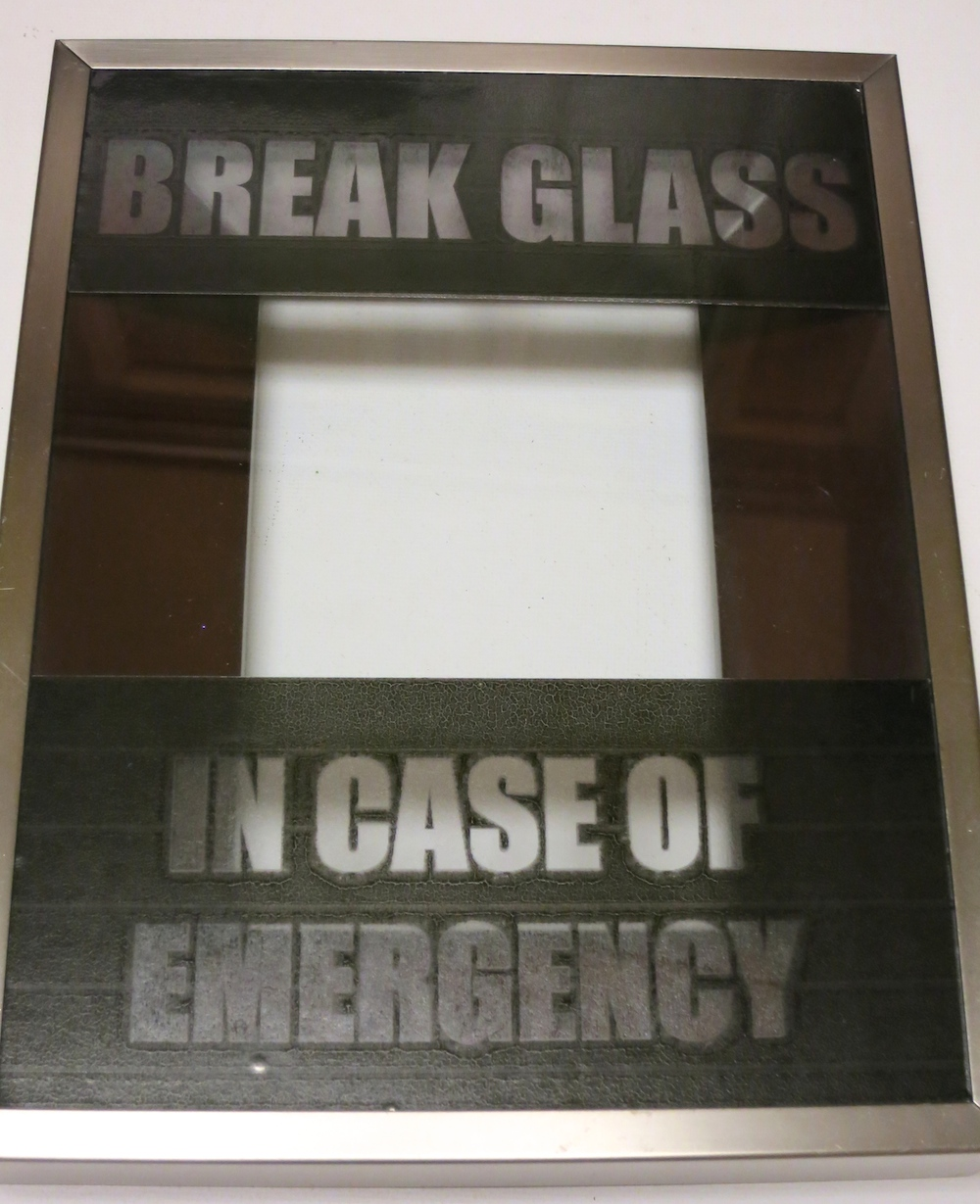 graphic regarding In Case of Emergency Break Glass Printable known as Split Gl inside of Scenario of Unexpected emergency Sweet Decor - Morenas Corner