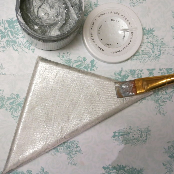 silver metallic paint