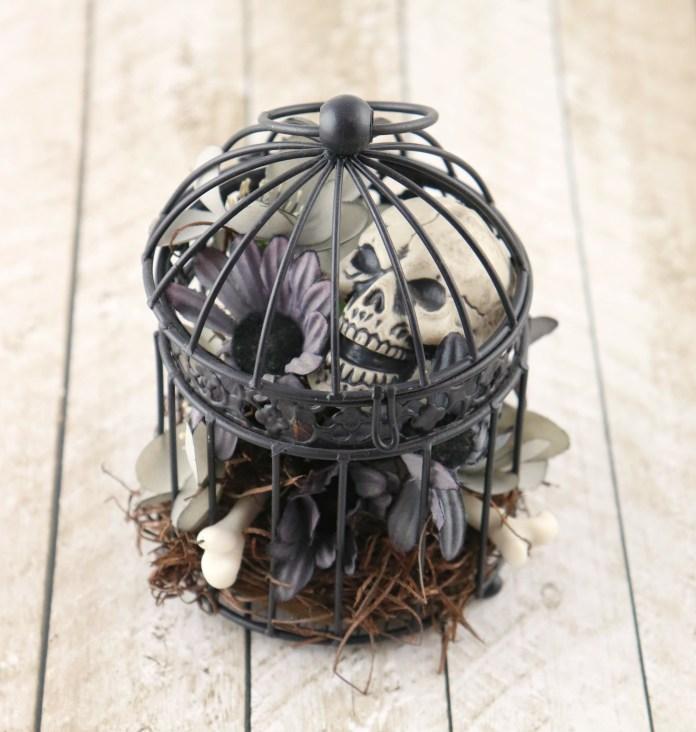 goth birdcage