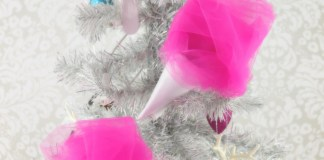 Cotton Candy Ornaments Tutorial
