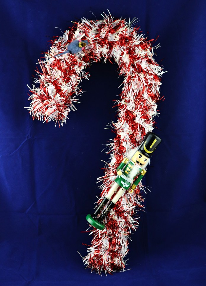 nutcracker wreath DIY