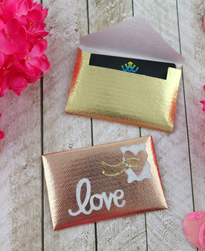 gift card holder DIY
