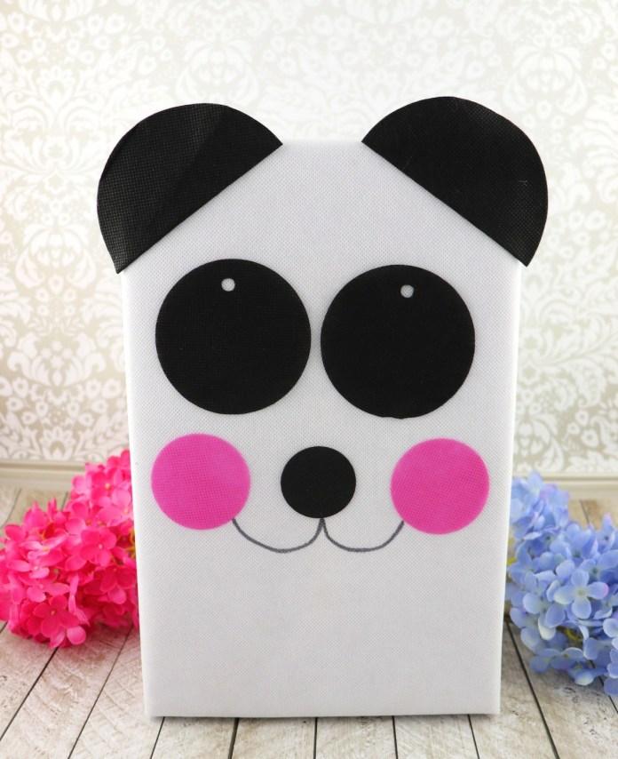 panda valentine holder