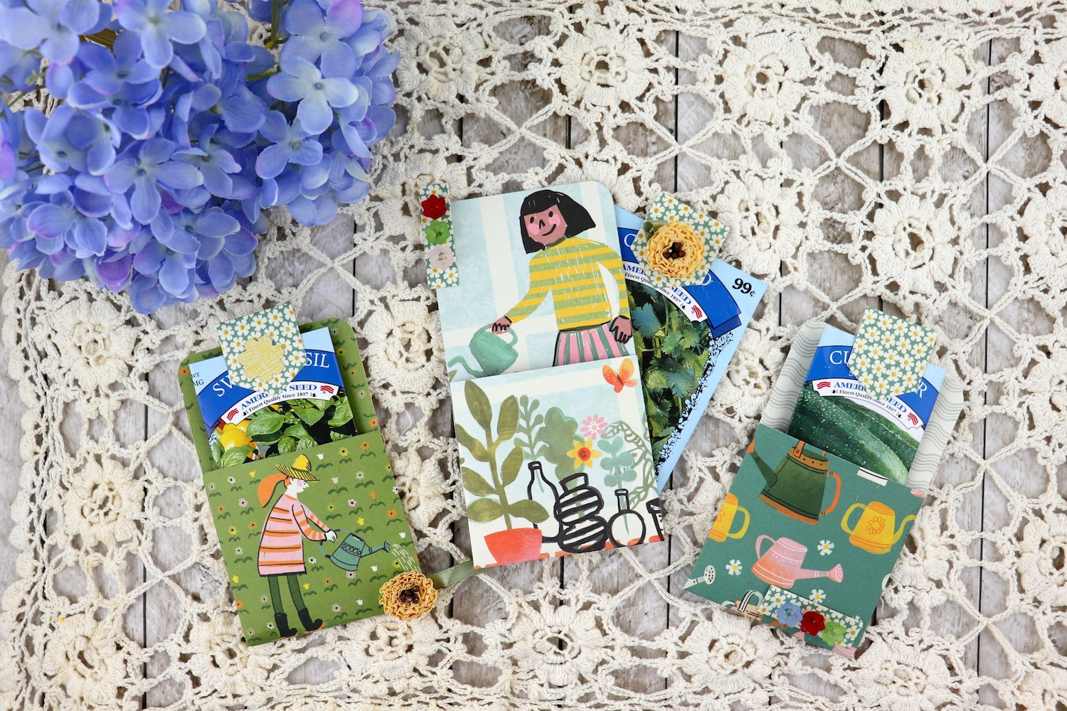 Garden Gift Pocket Tutorial