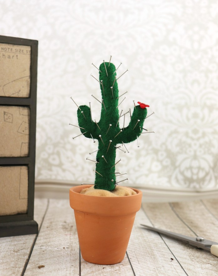 pin cushion cactus DIY