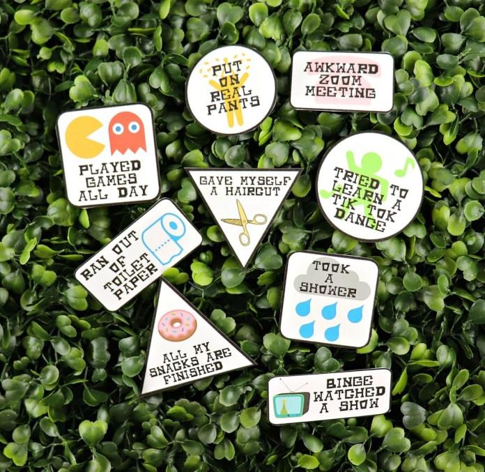quarantine badges printable