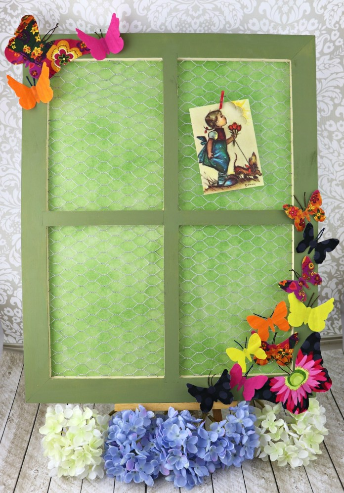 butterfly photo frame tutorial