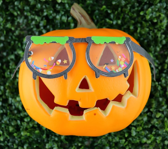 how to make halloween glasses