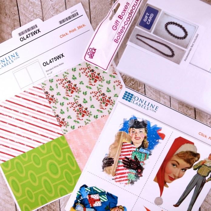OnlineLabels.com printables retro theme