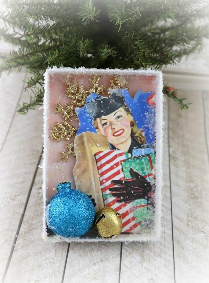 MCM retro Christmas ornament DIY