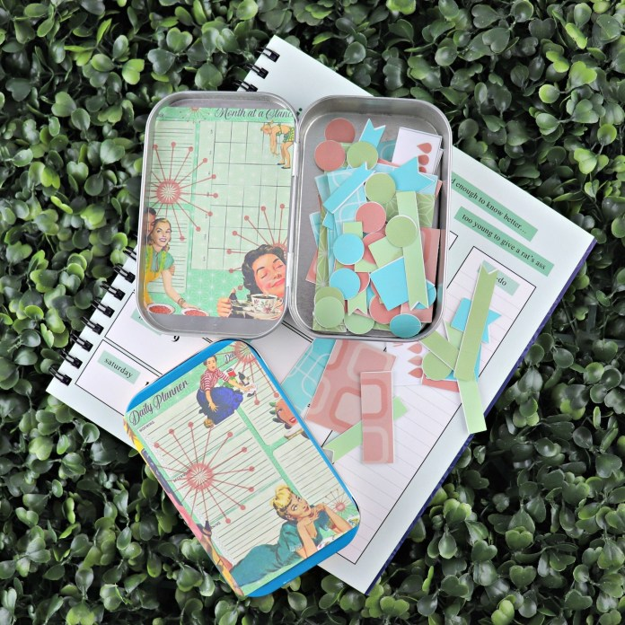 DIY planner Stickers and case tutorial