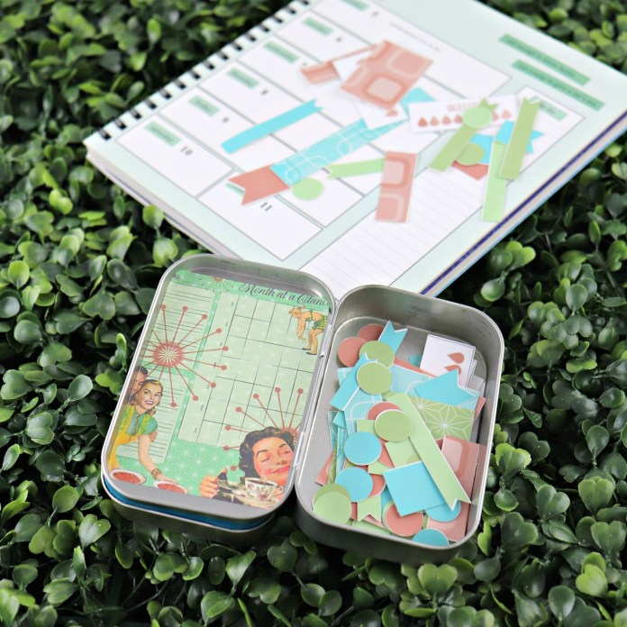 make planner stickers and carrying case