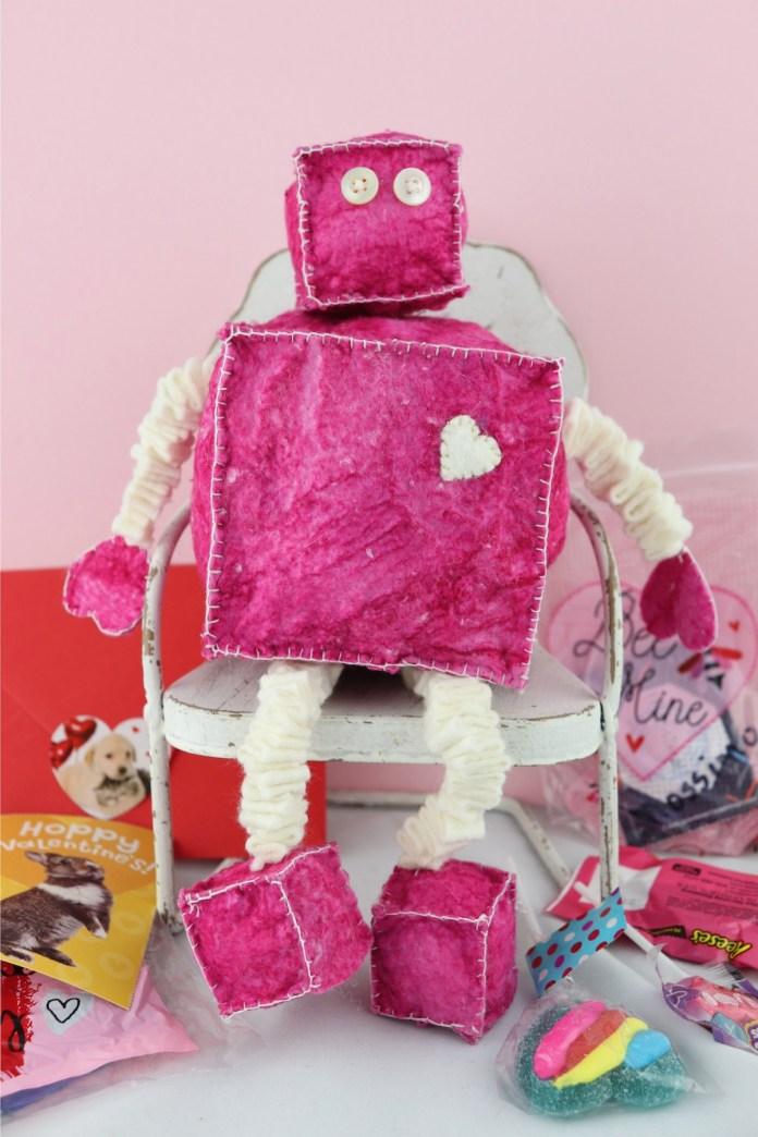 Robot Plush Valentine Tutorial