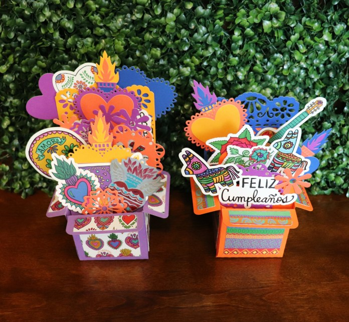 fiesta crafty chica exploding card
