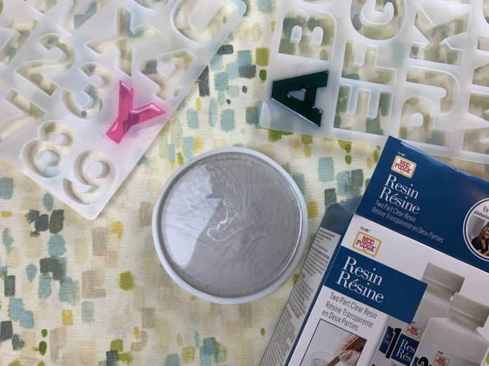 supplies for resin projects