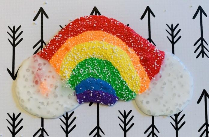 slime made with micro beads