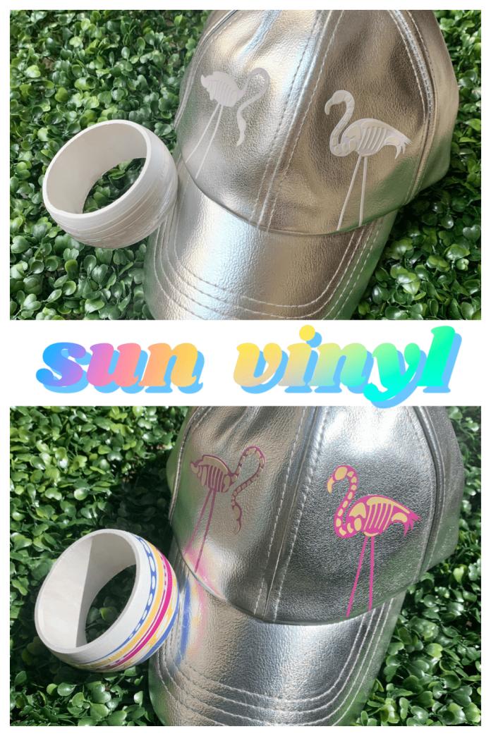 DIY sun vinyl accessories