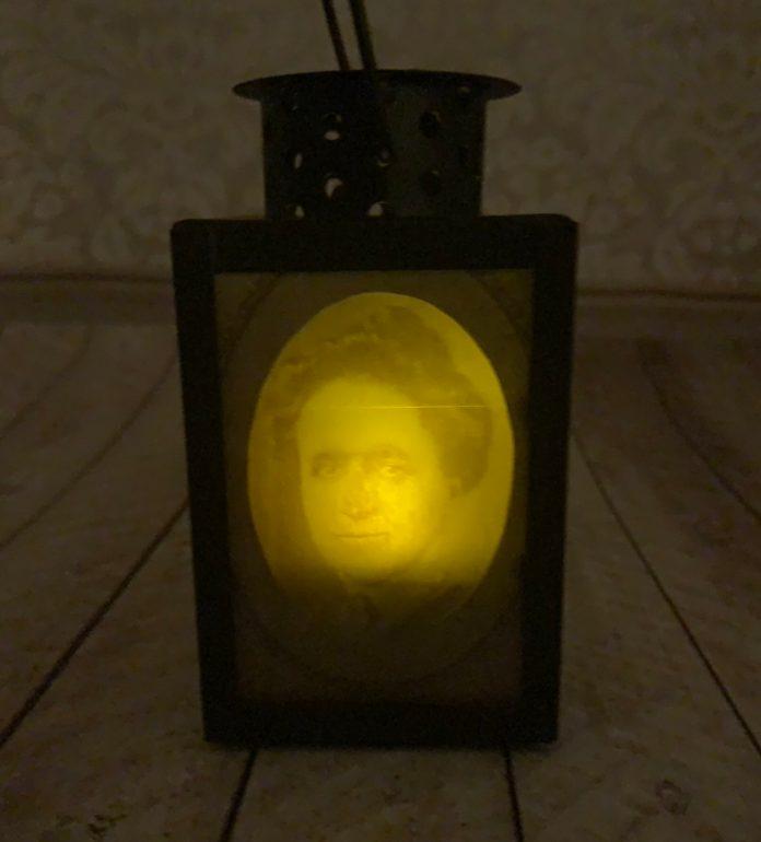 creepy DIY lantern