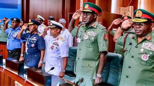 IGP Adamu, other Service chiefs to resign
