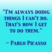 i'm always doing pablo picasso