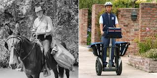 postman horseback