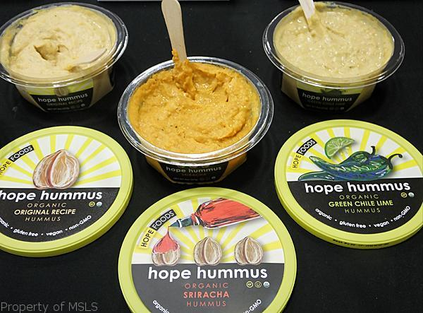 fancy food show hope siracha hummus