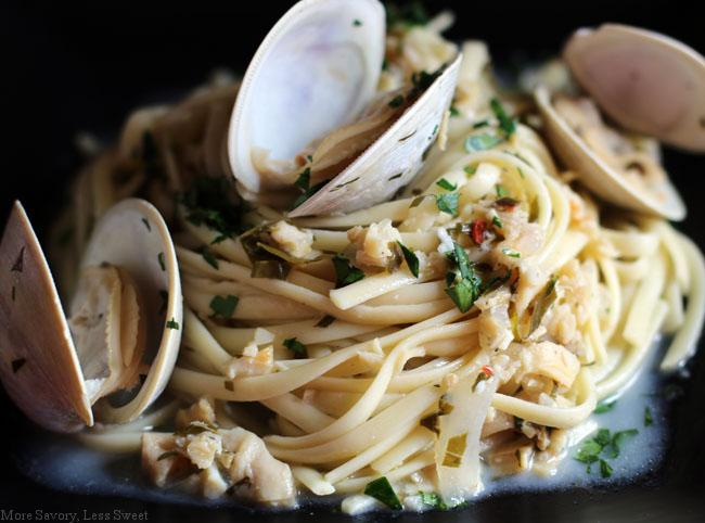 clam linguine 0821