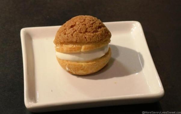 Crackle Top Cream Puff