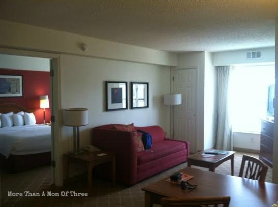 residence inn living room