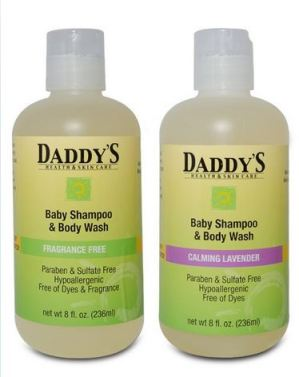Daddy's Health & Skin Care Baby Shampoo and Body Wash